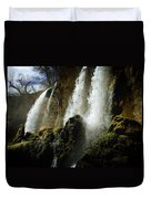 Rifle Falls I Duvet Cover