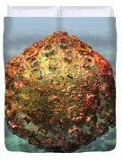 Rift Valley Fever Virus 1 Duvet Cover by Russell Kightley