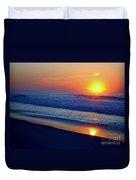Right Hand Sun Duvet Cover