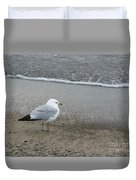 Ring-billed Gull Duvet Cover