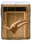 Ring Gymnast No 2 Duvet Cover by Eugene Jansson