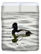 Ring Necked Duck  Duvet Cover