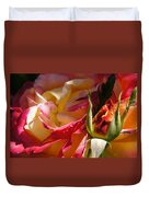 Rio Samba Rose And Bud Duvet Cover