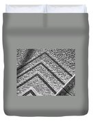 Ripple Effect Bw Palm Springs Duvet Cover
