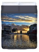 Rippled Waters  Duvet Cover