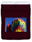 Rising Hot Air Balloons Duvet Cover
