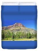 Rising Wolf Mountain Duvet Cover