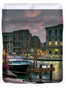 Riva Del Vin. Venezia Duvet Cover