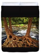 River And Roots Duvet Cover