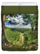 River In The Valley Duvet Cover
