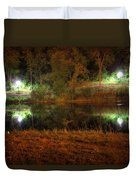 River Night Smooth Duvet Cover