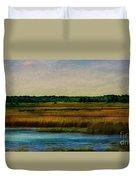 River Of Grass Duvet Cover