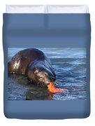 River Otter Duvet Cover