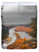 River Overlook Duvet Cover