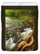 River Rapids Duvet Cover by Elena Elisseeva