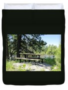 River Rest Stop Duvet Cover