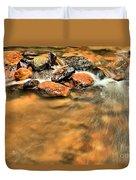 River Rock Swirl Duvet Cover