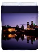 River Shannon, Athlone, County Duvet Cover