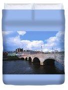 River Slaney, Enniscorthy, Co Wexford Duvet Cover