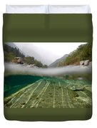 River Surface Duvet Cover