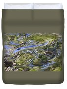 River Swirls - Abstract Duvet Cover