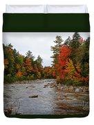 Rivers Run Through It..fall Brilliance Duvet Cover