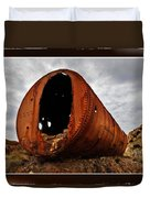 Rivets And Rust Duvet Cover