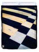 Road Markings Duvet Cover