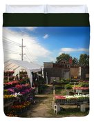 Road Side Stand Duvet Cover