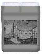 Road Textures Duvet Cover