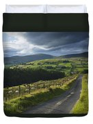 Road Through Glenelly Valley, County Duvet Cover