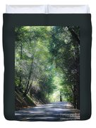Road To Apple Hill Duvet Cover