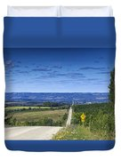 Road To The Valley Duvet Cover