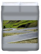 Road With Curves Duvet Cover by Mats Silvan