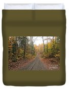 Roads Less Traveled Duvet Cover