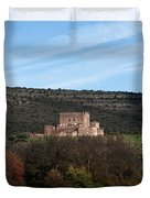 Roadside Castle Duvet Cover