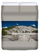 Roaring Mountain Panorama Duvet Cover