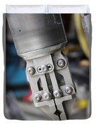 Robotic Arm On Deep Sea Submarine Duvet Cover