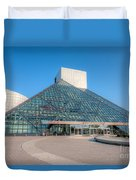 Rock And Roll Hall Of Fame II Duvet Cover