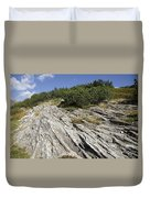 Rock And Sky Duvet Cover