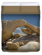 Rock Arch Near Joshua Tree No 0294 Duvet Cover
