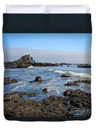 Rock Beach Duvet Cover