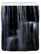 Rock Glen Water Falls Duvet Cover