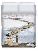 Rock Lake Crossing Duvet Cover