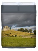 Rock Of Cashel, Cashel, County Duvet Cover