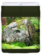 Rock Spirits Keeping Secrets Duvet Cover