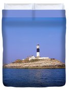 Rockabill, Off Skerries, Co Dublin Duvet Cover