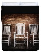 Rocking Chairs Duvet Cover