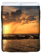 Rockpool Sunset Duvet Cover