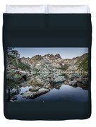 Rocks And Reflections Duvet Cover